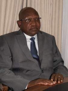 Professor Ngwabi M. Bhebe, Midlands State University Vice-Chancellor